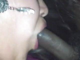 Mexican cumshots - Cant get enough of her black boyfriends cum