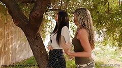 Beautiful lesbian caught her lesbian girlfriend cheating!