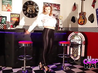 Well greased ass - Grease slut loves to fuck herself