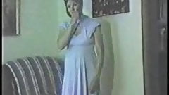 Vintage Wife Donna Blue Dress Striptease
