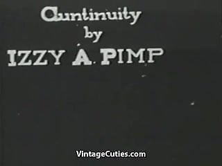 Young single adult branch Painter seduces and fucks a single girl 1920s vintage
