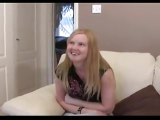 British teen porn video - British teen takes on an older guy