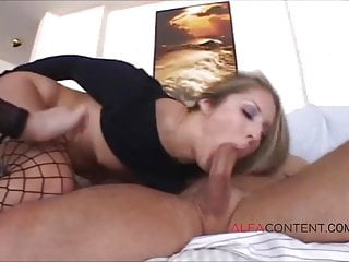 Sexy milf gets butt rubbed Two sexy milfs gets their butt holes fucked hard