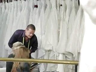 Brides lingerie - Two brides fucked