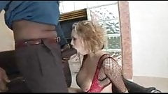 Big Tit Blonde Gets BBC