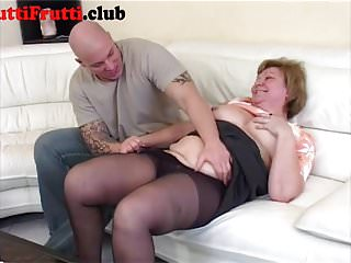 Granny first anal sex - Chubby granny first anal