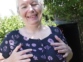 Her first porn sites - Granny makes her first porn video