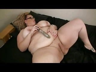 Chunky girls pussy My horny fat bbw chunky ex gf masturbating her shaven pussy