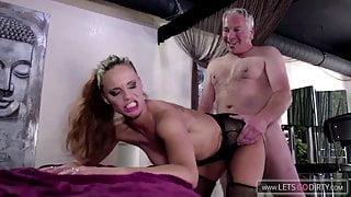 German Milf Orgasmic Massage