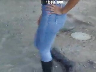 Piss jeans boots - Tight jeans with sexy boots
