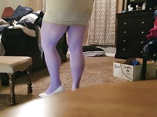 Pantyhose mature riding ripped free movie Bbw in ripped colored tights