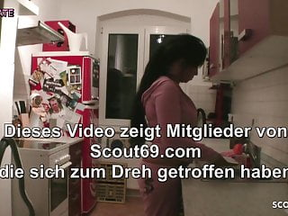 Mom son dad big penis incent Son seduce german stepmom to fuck in kitchen when dad away
