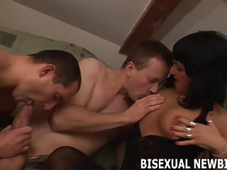 Bisexual threesome sex My first bisexual threesome is going to be so fun