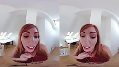Watch redhead in VR - Lauren Phillips