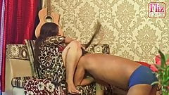 Indian pussy licking . Bhabhi fucked by servant