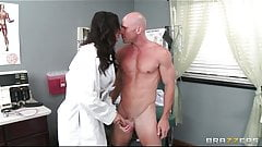 Beautiful doctor's assistant Destiny Dixon fucks her patient