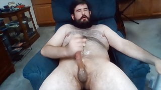 Nasty Straight Boy Chilling and Cumming