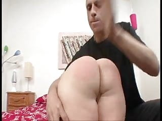Black guy spanked Midget gets fucked by sadistic guy