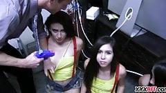 Lesbian sorority sisters fuck fest