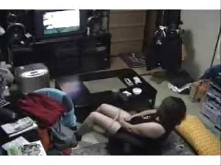Porno live strening My mum masturbating watching a porno in living room
