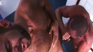 Hot and horny on a boat