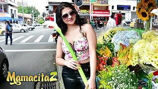 CarneDelMercado - Leidy Silva Takes Cock In Crazy Hot threeway