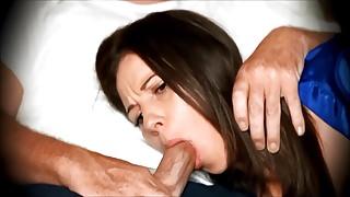 Face Fuck cum in Mouth