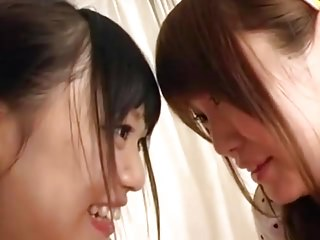 Hcg breast tenderness - Two tender japanese girls playing with each other