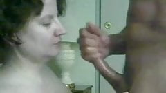 Another slutty wife Cum In Mouth
