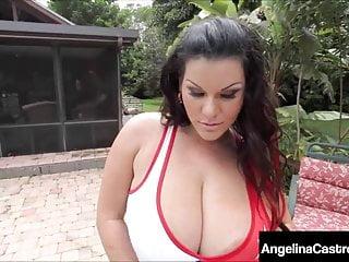 Beautiful latina nudes Big beautiful latina angelina castro face fucked cummed on