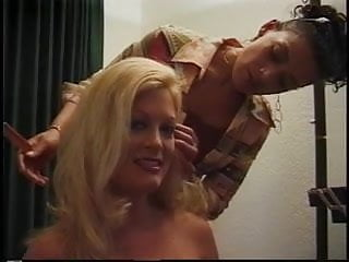 Brutal sex bold Blonde is fucked by a bold guy