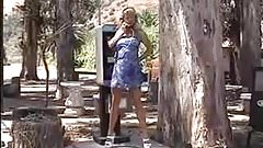 Outdoor at Phone Pissing - from Web