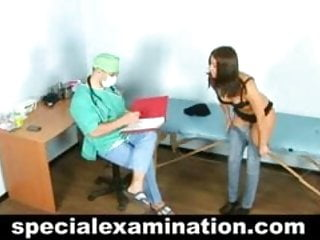 Nude pass exams - Brunette passed nude medical exam