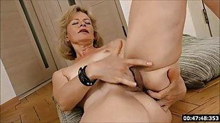 Lustful deaf-mute Russian grandma Diana... 1
