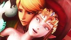 Zelda the legend of sex bitch 3