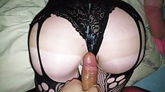 Close up fuck my homemade sexdoll in POV before sleep