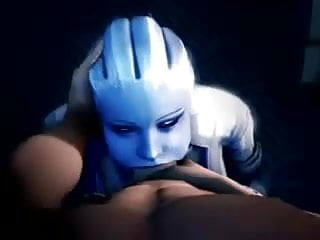 Mass effect porn Mass effect liara deepthroat blowjob