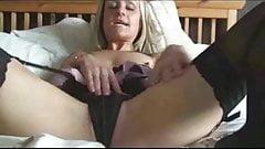 Sexy Blonde Stocking Milf Emma