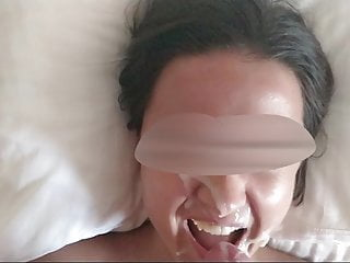Teen cum on face - Cum on face