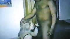 Vintage cuckold interracial
