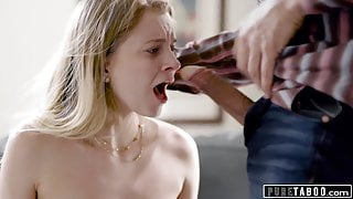 PURE TABOO Step Dad Manipulates Step-Daughter Into Sex