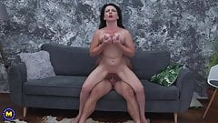 Mom gets anal sex from lucky son