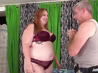 Slut ginger Raunchy rubdown for fat slut ginger rose