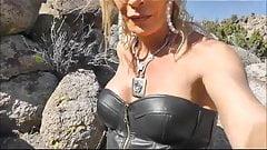 sexy slut in nevada desert