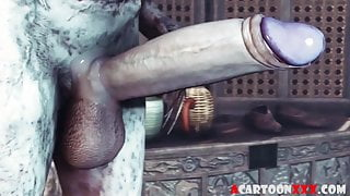Amazing Triss fucked by different big dicks