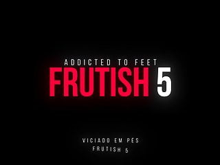 Fruit in her pussy Demi dominates guy with her feet and fruits in frutish 5