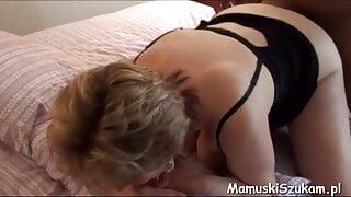 Granny gets a good ass fucking