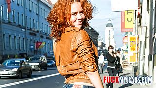 Redhead Anal Teen Cute Sunny Likes It Rough