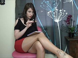 Define an adult psychologist Pantyhose psychologist brainwashing seducing femdom