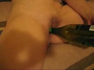 Masturbation drink bottle - After drinking a bottle